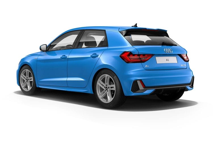 Audi A1 30 Citycarver 5Dr 1.0 TFSI 110PS  5Dr S Tronic [Start Stop] back view