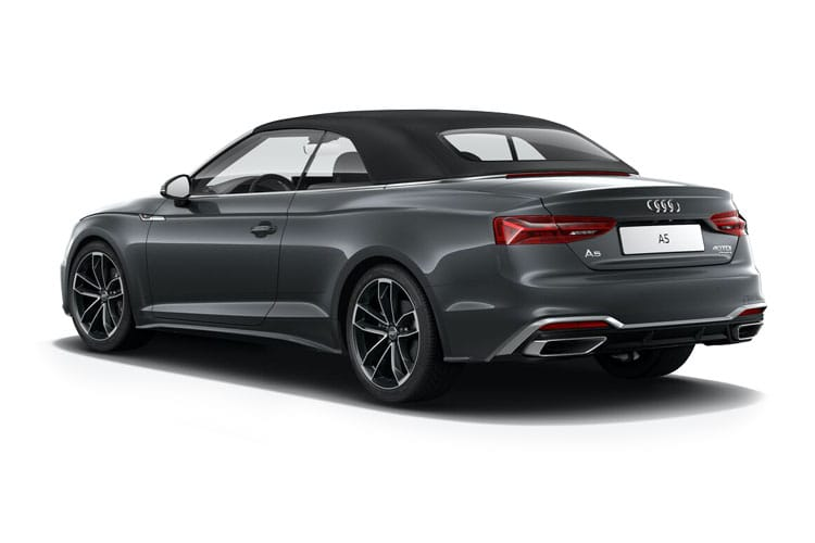 Audi A5 40 Cabriolet 2Dr 2.0 TFSI 190PS Vorsprung 2Dr Manual [Start Stop] back view