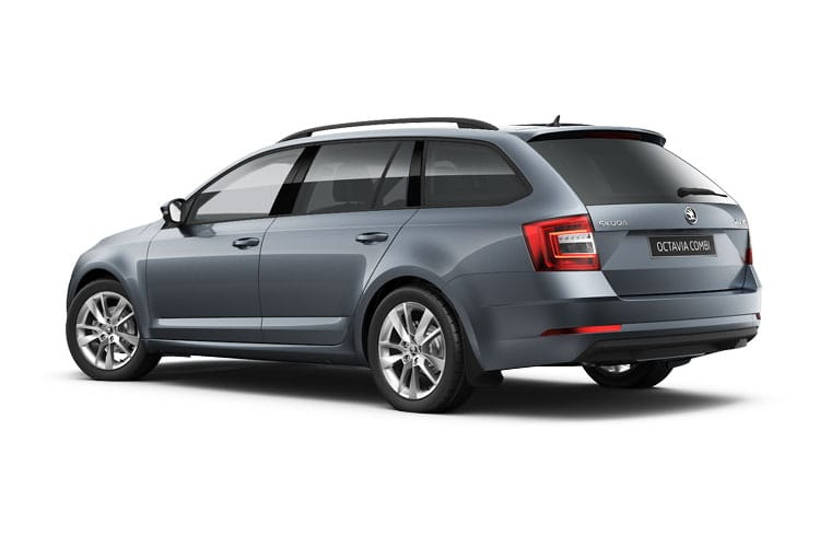 Skoda Octavia Estate 2.0 TDi 115PS SE Technology 5Dr Manual [Start Stop] back view