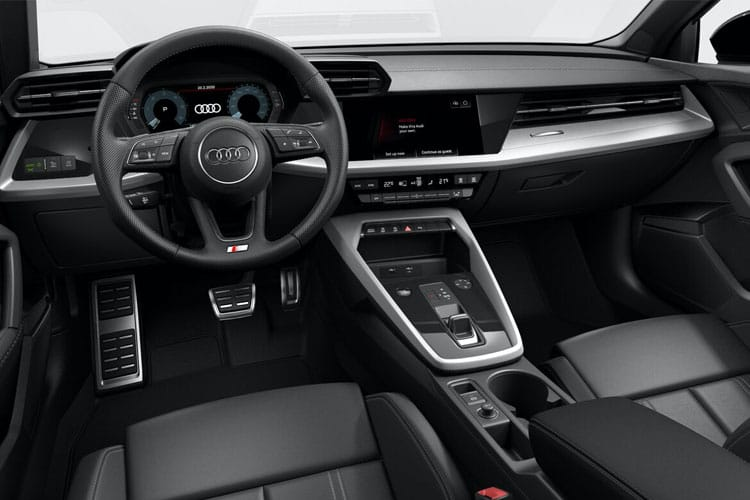 Audi A3 40 Sportback 5Dr 1.4 TFSIe PHEV 13kWh 204PS Sport 5Dr S Tronic inside view