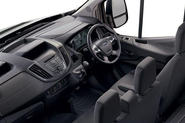Ford Transit 350 L3 2.0 EcoBlue FWD 130PS Leader Luton Manual [Start Stop] inside view