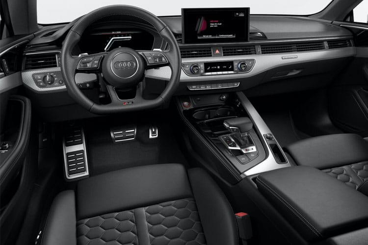 Audi A5 35 Coupe 2Dr 2.0 TDI 163PS S line 2Dr S Tronic [Start Stop] [Comfort Sound] inside view