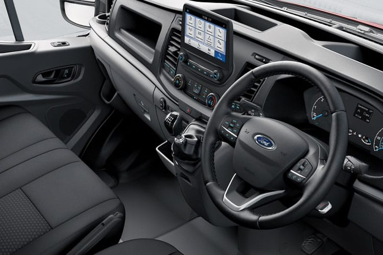 Ford Transit 350HD L3 RWD 2.0 EcoBlue DRW 170PS Leader Premium Dropside Auto [Start Stop] inside view
