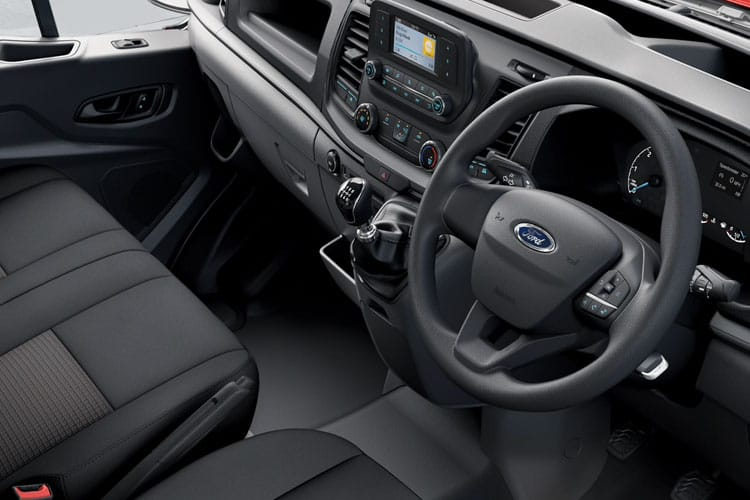 Ford Transit 350HD L3 RWD 2.0 EcoBlue DRW 170PS Leader Chassis Cab Auto [Start Stop] inside view