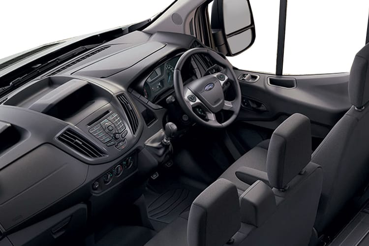 Ford Transit 350 L2 RWD 2.0 EcoBlue RWD 170PS Leader Tipper Manual [Start Stop] [3Way 1Stop] inside view